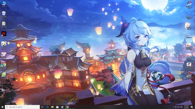 Cái đặt hình nền động Waifu xinh đẹp cho PC, có cả Genshin Impact - Ảnh 3.