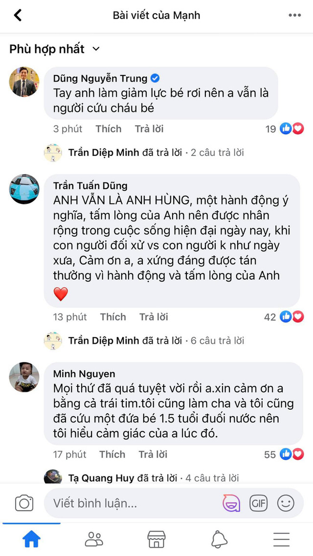 Một clip góc khác cho thấy Nguyễn Ngọc Mạnh đã vất vả và nỗ lực đến thế nào khi cố gắng cứu em bé - Ảnh 3.