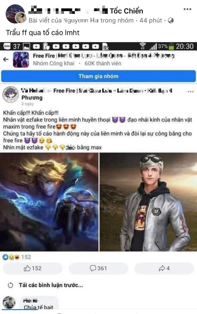 Game thủ Việt đòi kiện LMHT và cả Tốc Chiến, tố cáo Ezreal đã đạo nhái nhân vật của một tựa game mobile - Ảnh 1.