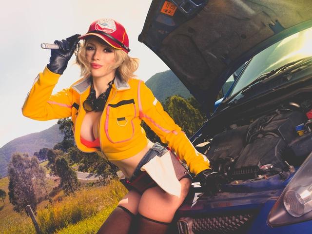 Cô nàng thợ máy của Final Fantasy XV bước ra đời thật siêu quyến rũ với tâm hồn ná thở - Ảnh 17.