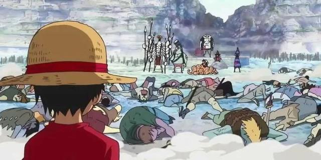 Top 10 khoảnh khắc trong One Piece khiến fan phải nổi da gà, hầu hết đều dính dáng tới băng Mũ Rơm (P.1) - Ảnh 2.