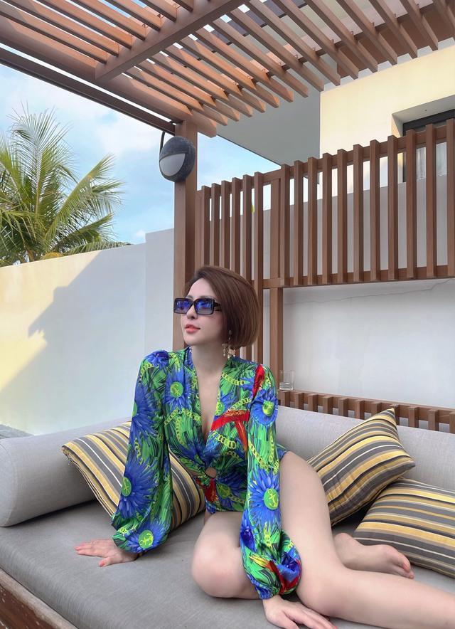 Khoe sắc với bikini quyến rũ, hot girl Trâm Anh khiến CĐM bất ngờ với vóc dáng chuẩn chỉnh - Ảnh 6.