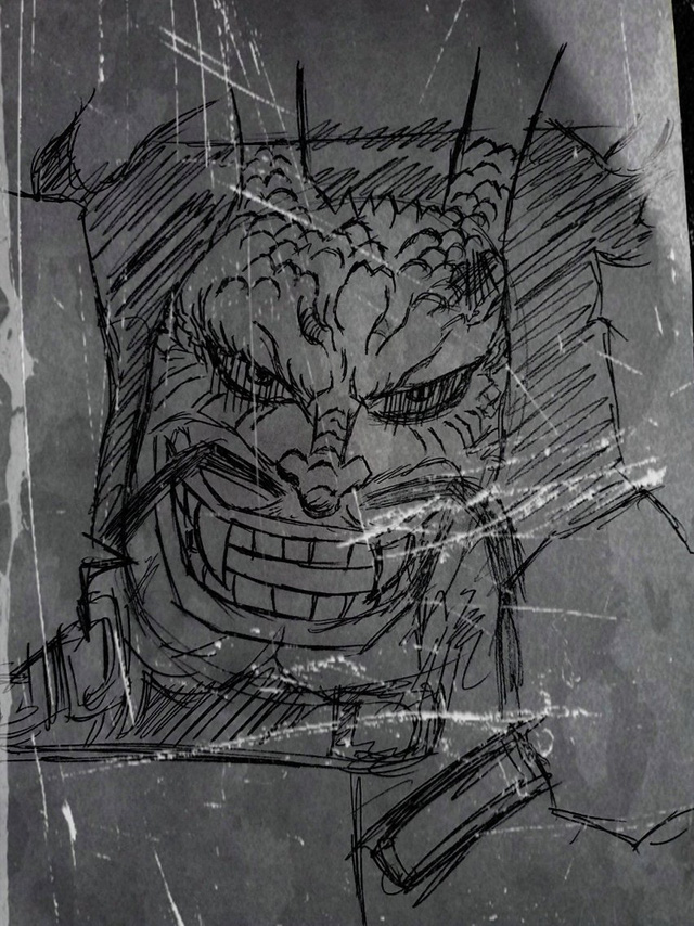 Spoil nhanh One Piece chap 1008: Oden xuất hiện là giả mạo, lộ diện hình dạng bán long của Kaido - Ảnh 4.