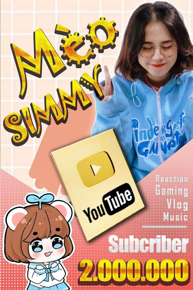"""Sau thông báo """"rap battle"""" với Cô Ngân TV, nữ streamer Simmy nhận tin vui từ YouTube, kênh chính thức đạt số follow khủng - Ảnh 4."""