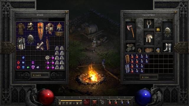 """Diablo II: Resurrected cho phép game thủ chơi tiếp """"bản save"""" của 20 năm trước - Ảnh 1."""
