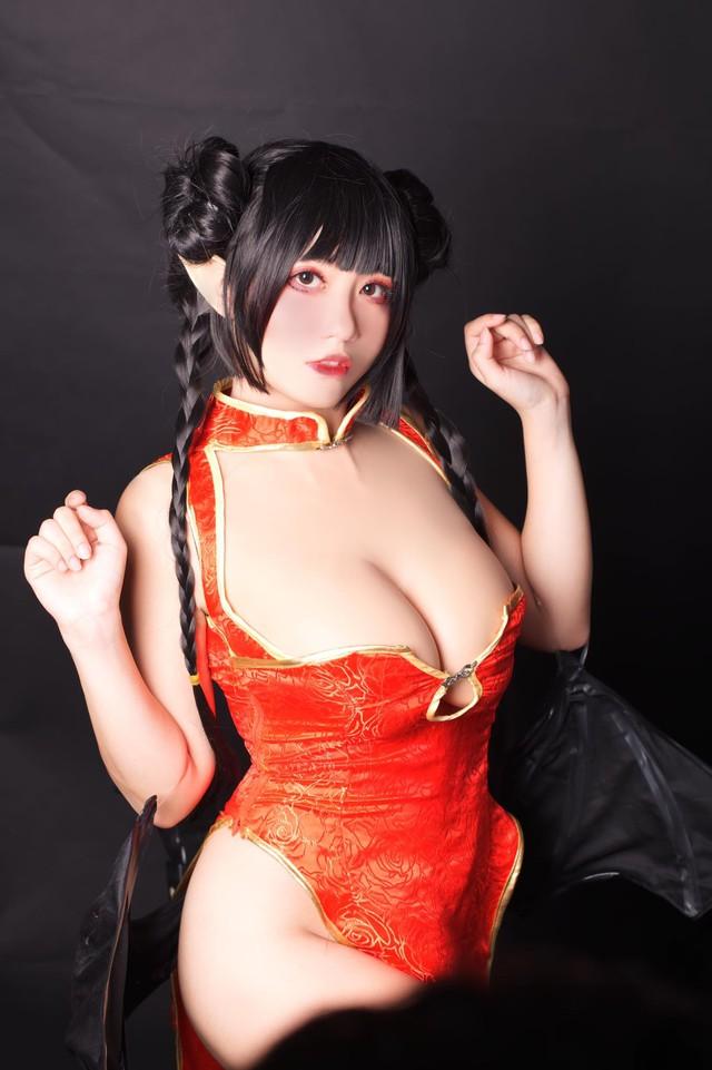 Đại hội khoe ngực giữa tuần từ giới cosplay: Hot girl 2K2 cực bốc nhưng vẫn không so nổi độ phồn thực của loạt mỹ nữ Gun Gun này - Ảnh 24.