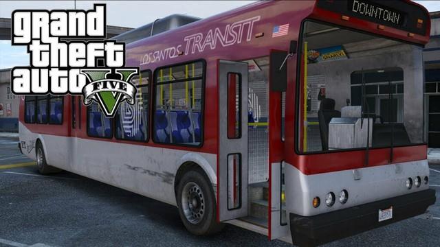 Xuất hiện thánh lái xe trong GTA V: Dùng xe buýt đổ đèo, drift điên cuồng với vận tốc 180km/h mà vẫn nuốt nuột - Ảnh 1.