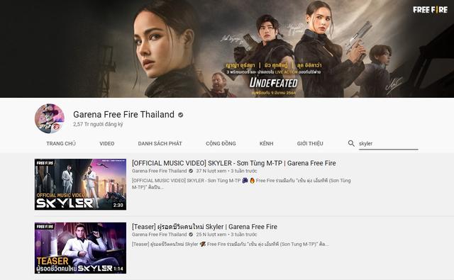 """MV Skyler được đăng tải trên hàng loạt kênh YouTube game quốc tế triệu sub, fan Việt được dịp """"mát mặt"""" - Ảnh 3."""
