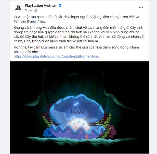 Hoa trở thành game Việt đầu tiên trong lịch sử xuất hiện trên PS5 - Ảnh 2.