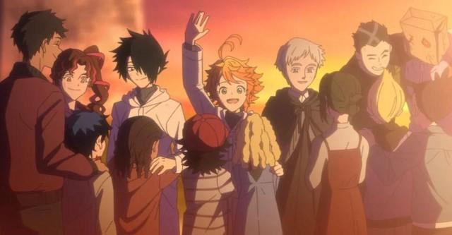 Miền đất hứa: Anime chuyển thể dở tệ nhất năm 2021, soán cả ngôi của Tokyo Ghoul? - Ảnh 1.