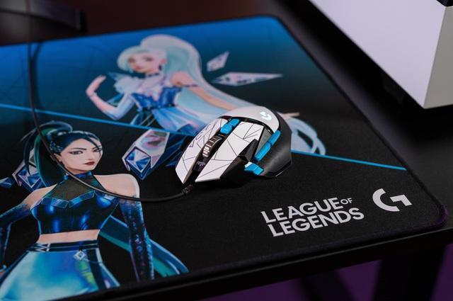 K/DA Collection, bộ sưu tập gaming gear đầu tiên của Logitech G kết hợp cùng Liên Minh Huyền Thoại - Ảnh 5.