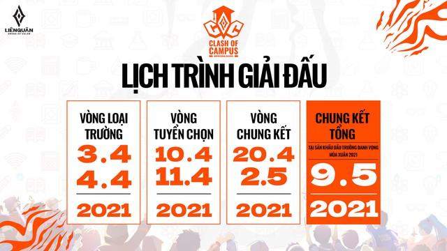 Khởi động giải đấu Liên Quân Mobile dành cho sinh viên, tổng giá trị giải thưởng hấp dẫn lên tới 200 triệu đồng - Ảnh 1.