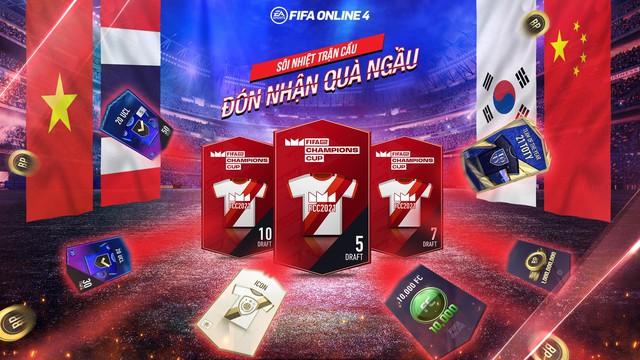 FIFA ONLINE 4 Mang đến cơ hội đặc biệt để nâng cấp đội hình MIỄN PHÍ thông qua sự kiện Cháy Cùng FIFAe Champions Cup 2021 - Ảnh 2.