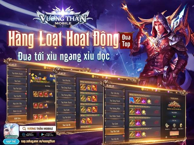 Vương Thần Mobile chính thức ra mắt, đông kẹt cứng map tân thủ: Tặng GiftCode kèm tượng vàng 9999 đua TOP, càng chơi càng lên VIP - Ảnh 4.