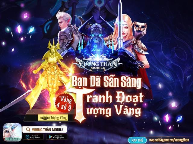 Vương Thần Mobile chính thức ra mắt, đông kẹt cứng map tân thủ: Tặng GiftCode kèm tượng vàng 9999 đua TOP, càng chơi càng lên VIP - Ảnh 7.