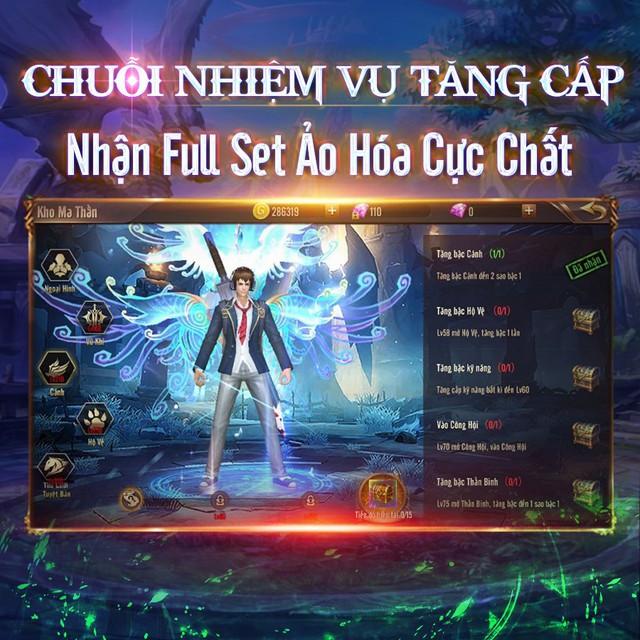 Vương Thần Mobile chính thức ra mắt, đông kẹt cứng map tân thủ: Tặng GiftCode kèm tượng vàng 9999 đua TOP, càng chơi càng lên VIP - Ảnh 6.