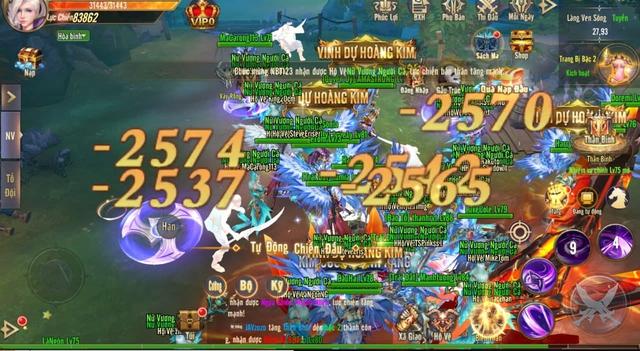 Vương Thần Mobile chính thức ra mắt, đông kẹt cứng map tân thủ: Tặng GiftCode kèm tượng vàng 9999 đua TOP, càng chơi càng lên VIP - Ảnh 1.
