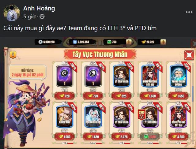 Duy nhất 3 ngày! Nông dân Tân Minh Chủ sẽ sở hữu 3 tướng hiếm nhất game: Cày chay có Quách Tĩnh 5 sao, vào ngay kẻo hối hận - Ảnh 7.