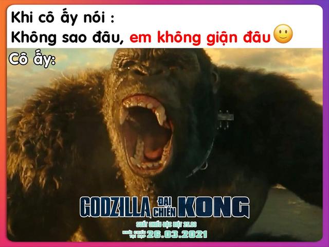 Godzilla Đại Chiến Kong nhận cơn mưa lời khen và chế ảnh khắp MXH, cán mốc một triệu lượt khán giả ra rạp - Ảnh 8.