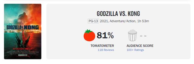 Godzilla Đại Chiến Kong nhận cơn mưa lời khen và chế ảnh khắp MXH, cán mốc một triệu lượt khán giả ra rạp - Ảnh 2.