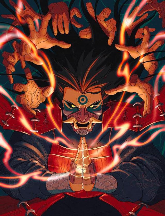 Naruto: Giật mình khi thấy các nhẫn giả bật mode theo phong cách Huyết Nguyệt trong LMHT - Ảnh 1.