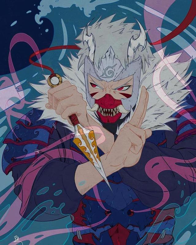 Naruto: Giật mình khi thấy các nhẫn giả bật mode theo phong cách Huyết Nguyệt trong LMHT - Ảnh 3.
