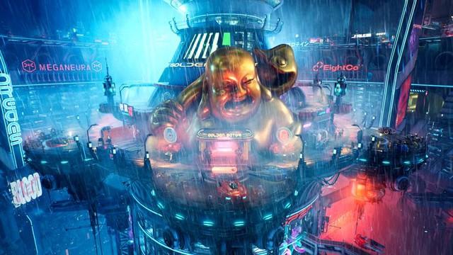 Xuất hiện Cyberpunk 2077 phiên bản góc nhìn từ trên xuống, đẹp không kém gì bản gốc - Ảnh 5.