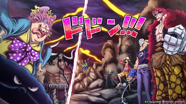 One Piece: Tứ Hoàng Big Mom và 7 lần trở thành trò cười cho thiên hạ, ai gặp Luffy cũng phải tấu hài cả thôi - Ảnh 8.