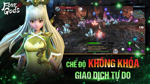 Ngày mai 1/4, Tứ Hoàng Mobile chính thức Closed Beta và 4 lý do không thể bỏ lỡ bom tấn MMORPG đình đám xứ Hàn này! - Ảnh 12.
