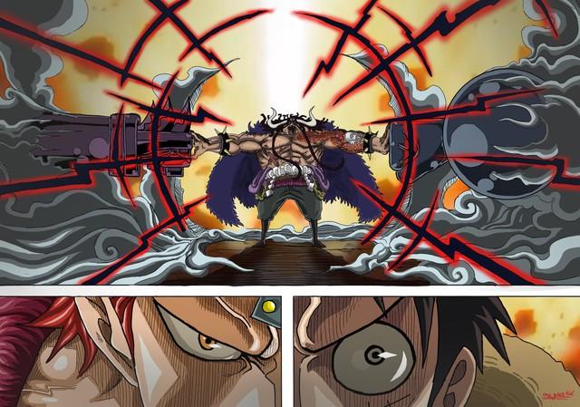 Spoil chi tiết One Piece chap 1009: Orochi bị nhóm Xích Sao chặt đầu, Kaido né đòn của Luffy vì sợ? - Ảnh 3.