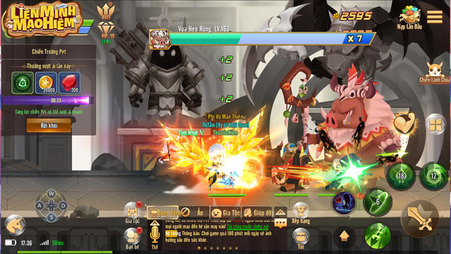 Liên Minh Mạo Hiểm: Game mobile 'bùng nổ' ngày ra mắt với loạt tính năng siêu khủng - Ảnh 4.