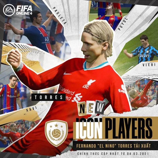 SIÊU HOT: Fernando Torres cơ bắp cuồn cuộn tái xuất FIFA Online 4 để bán hành cho Vidic, Ferdinand - Ảnh 1.