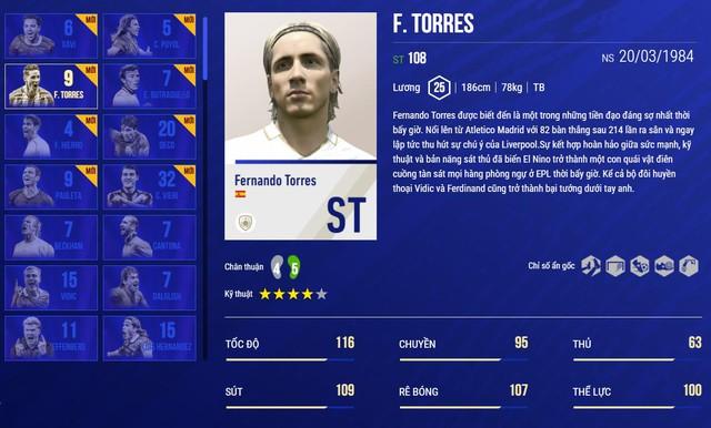 SIÊU HOT: Fernando Torres cơ bắp cuồn cuộn tái xuất FIFA Online 4 để bán hành cho Vidic, Ferdinand - Ảnh 3.