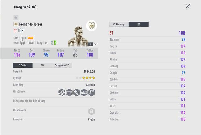 SIÊU HOT: Fernando Torres cơ bắp cuồn cuộn tái xuất FIFA Online 4 để bán hành cho Vidic, Ferdinand - Ảnh 7.