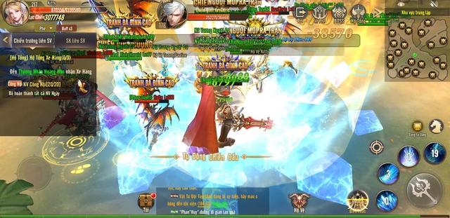 Khẳng định chất game cuốn hút, Vương Thần Mobile ngày càng đông sau 3 ngày ra mắt: Đáng chơi - Ảnh 2.