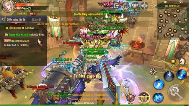 Khẳng định chất game cuốn hút, Vương Thần Mobile ngày càng đông sau 3 ngày ra mắt: Đáng chơi - Ảnh 9.