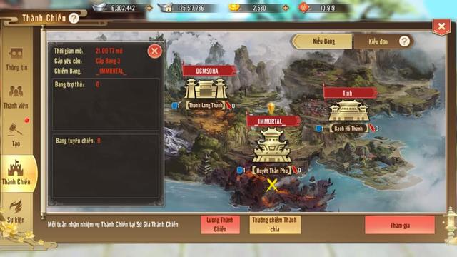 Chiến báo Thục Sơn tuần đầu tháng 3: Huyền Thạch Giới nhuốm đỏ, siêu kinh điển Công Thành Chiến và sự máu lửa khiến nhiều MMORPG phải thèm thuồng - Ảnh 7.