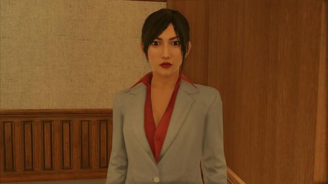Watching Yakuza boss Kazuma Kiryu very beautiful female version - Photo 3.