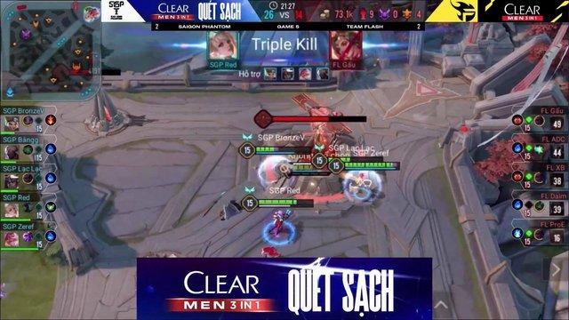 SGP đăng status khiến fan Team Flash giận tím mặt, Đồng V thì có động thái liên tục cà khịa ngay trong trận - Ảnh 2.