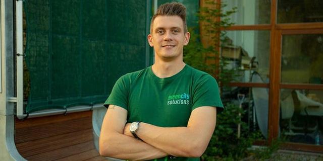 Người nông dân Đức 29 tuổi này muốn trồng được 1 triệu mét vuông rêu bên trong các thành phố - Ảnh 6.