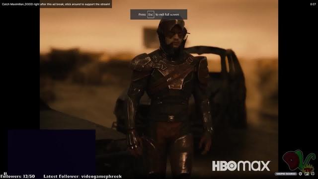 Liên minh công lý bản Zack Snyder tung đoạn cắt 30s mới toanh, tràn đầy cảnh chiến đấu mãn nhãn trên Twitch - Ảnh 4.