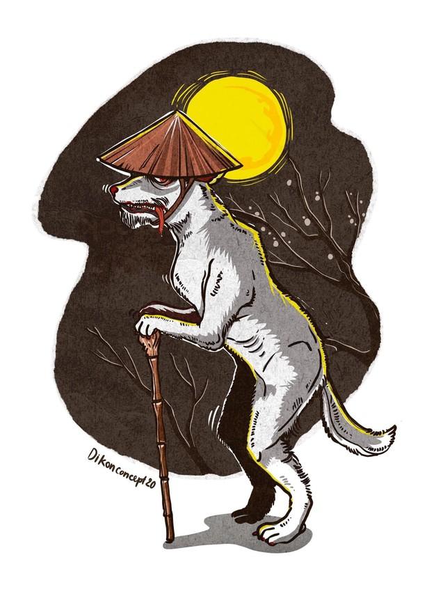 Chó đội nón mê – Giai thoại kinh dị về vận rủi khiến nhiều người sợ hãi - Ảnh 4.