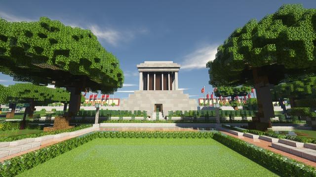 """Bái phục game thủ dùng """"cả thanh xuân"""" để tái dựng Việt Nam trong Minecraft - Ảnh 11."""