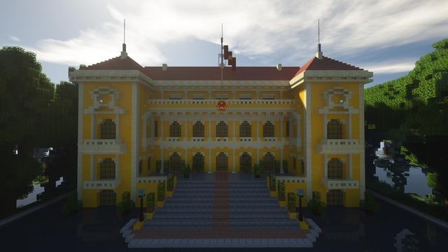 """Bái phục game thủ dùng """"cả thanh xuân"""" để tái dựng Việt Nam trong Minecraft - Ảnh 13."""