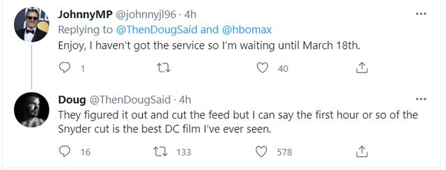 Hot: Liên minh Công lý bản Zack Snyder bị chiếu sớm 9 ngày vì sự cố bất ngờ - Ảnh 3.