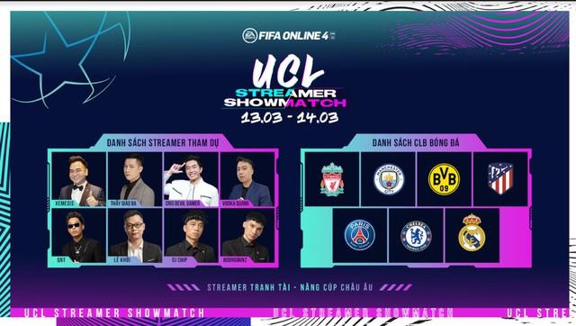 Khi Thầy Ba, Cris Phan, Vodka Quang và loạt streamer đình đám hóa thân thành HLV FIFA Online 4 - Ảnh 2.