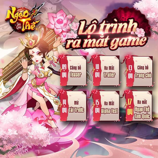 Ngạo Thế Tam Quốc Mobile chính thức ra mắt Teaser, công bố lộ trình ra mắt khiến game thủ phấn khích - Ảnh 1.
