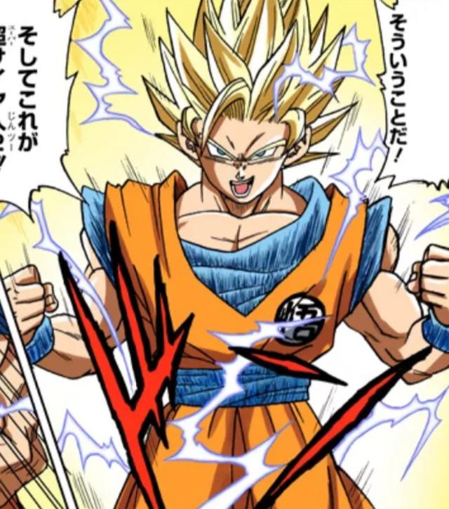Các cấp độ sức mạnh của Goku khi được lên màu trong manga, fan thốt lên nhìn chất thật - Ảnh 1.