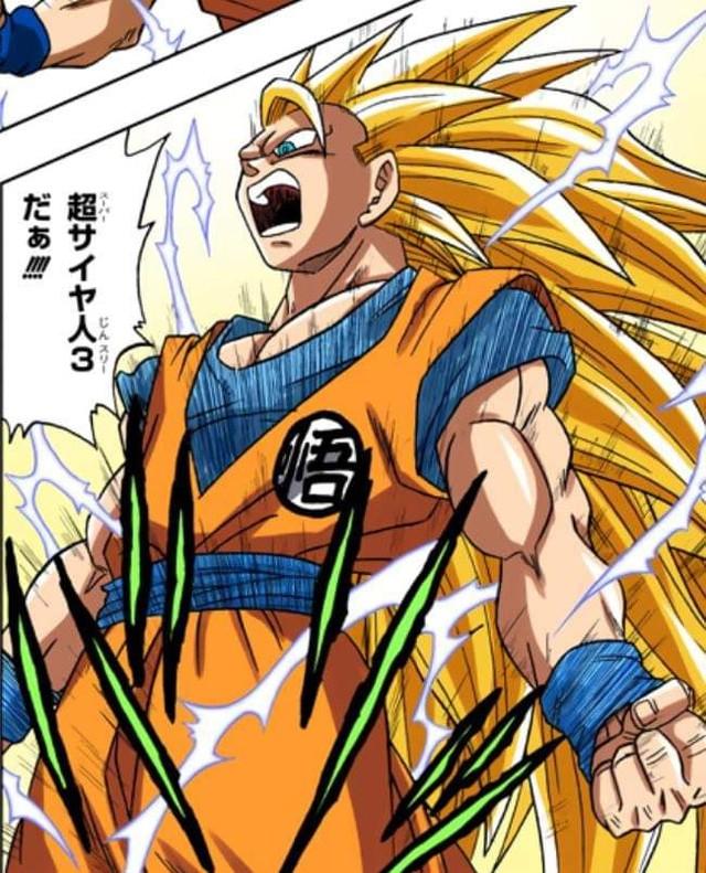 Các cấp độ sức mạnh của Goku khi được lên màu trong manga, fan thốt lên nhìn chất thật - Ảnh 2.