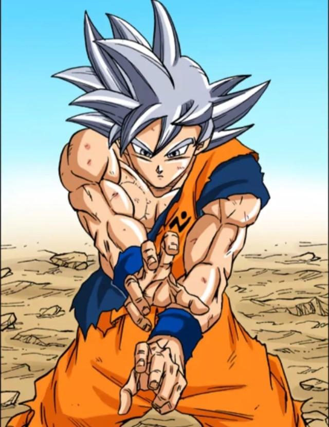 Các cấp độ sức mạnh của Goku khi được lên màu trong manga, fan thốt lên nhìn chất thật - Ảnh 6.